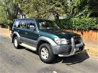 2000 Toyota Land Cruiser 3.0 Colorado Prado 3.0 Diesel Auto 7 Seater