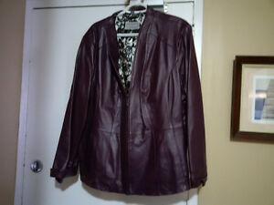 Royal Albert, Drapes, Purses, Shoes, Leather Jacket Stratford Kitchener Area image 4