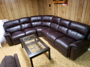 Large Sofa Sectional with Recliners