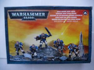 Warhammer 40k Space Marine Rhinos, Scouts, Land-Speeder