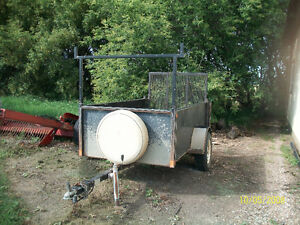 2004 Double A Landscaping Trailer
