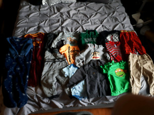 Boys size 12-18 months clothing lot
