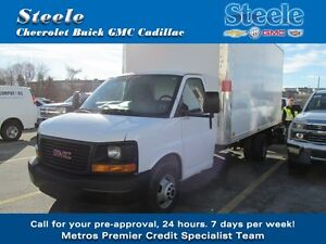 2015 GMC SAVANA 3500 CUBE VAN 16' box and built in Ramp ...