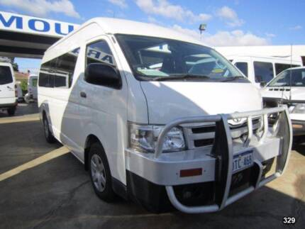 2011 Toyota Hiace Commuter Bus - High Roof LWB - 14  Seats St James Victoria Park Area Preview