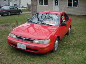 1994 Toyota Corolla Special Sedan, Best Offer now accepted