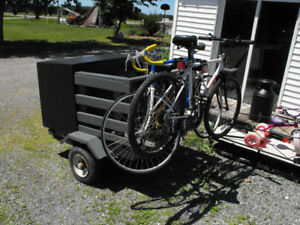 Newly built custom travel trailer. Great for camping or picnics.