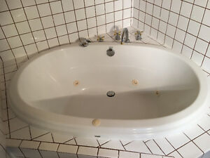 Jacuzzi tub with pump