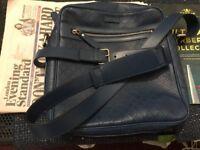Gucci Bright Diamante Leather Shoulder Crossbody Bag Dark Blue RRP £1250