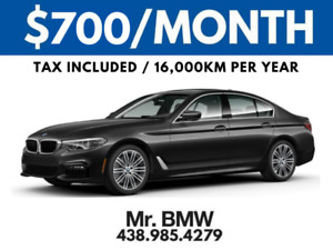 2018 BMW 530xi - $700/Month Plus Tax - 45 Months - $0 Cash Down