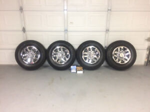 NEW WHEELS (M+S) FOR 2011-2018 CHEVY/GMC 2500/3500HD
