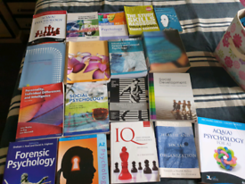 Psychology Books A Level and Degree Level
