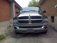 2002 Dodge Ram 4X4 4 door  Pickup Truck