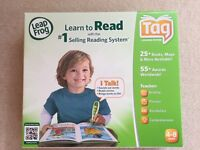 Leap Frog Reading System and two activity sets **NEW**