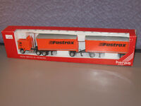 HERPA PROMOTEX FASTRAX TRUCK AND TRAILER 1:87 SCALE