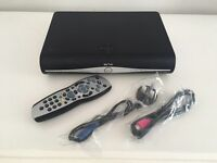 Sky HD+ Box, remote and cables - Excellent condition