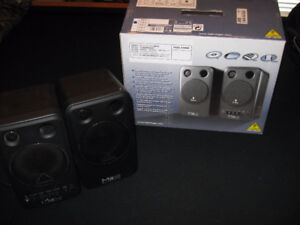 Behringer M16 Monitor Speakers, Two Sets