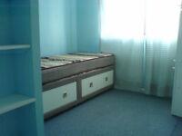 single room, furnished