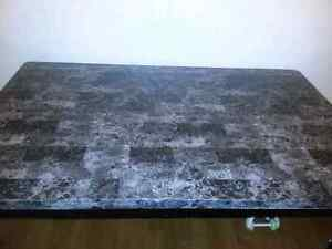 Faux Marble Dining Room Table