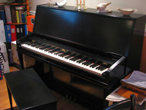 Piano droit Wilson & Sons noir !