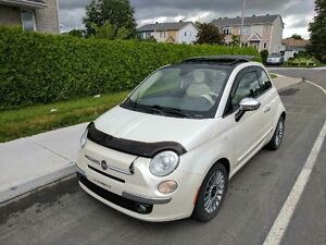 2012 Fiat 500 lounge automatique
