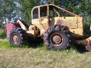 1983 Clarke 667C Line Skidder w/ Custom Detachable Water Tank