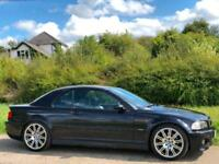 2003 [53] BMW M3 3.2 SMG II CONVERTIBLE /CAB CARBON BLACK LOW MILES 68K