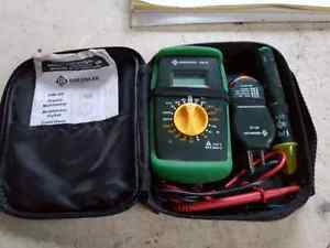 Greenlee Multimeter and Tester Kit