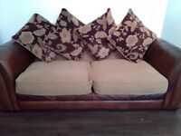 Leather sofa selling due to moving house