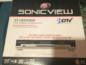 Sonicview SV-HD8000 Receiver