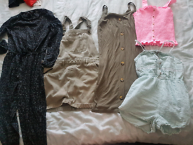 Girls 9-10 summer clothes bundle