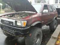 1990 Toyota 4Runner TRD VUS BIG FOOT