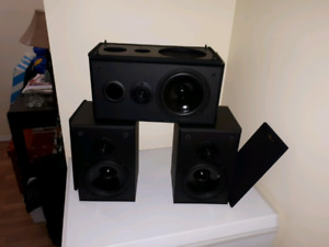 Nuance Center and surround speakers