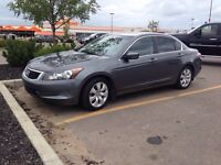 2008 Honda Accord 4 cylinder, ONLY 133,000 kms & BRAND NEW TIRES