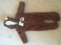 Gruffalo 3-6 fleecy suit