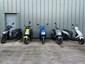 SYM ORBET 125cc Twist & Go Learner Legal Automatic Scooter Moped For Sale