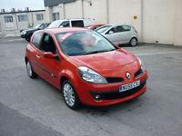 2006 Renault Clio 1.4 16v 98 ( a/c ) Dynamique S Zero Deposit Finance Available