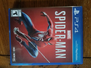 Spider Man PS4 40$ or trade