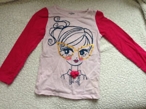 size 5 toddler baby gap long sleeved top