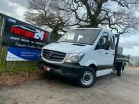 2017 Mercedes-Benz Sprinter 3.5t CREW CAB+JUST 70K! CHASSIS CAB Diesel Manual