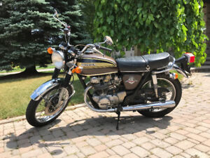 1974 Honda CB450 K7: $2950