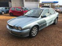 2005 Jaguar X-TYPE 2.0D Classic - 7 SERVICES STAMPS - Full MOT 01/2019