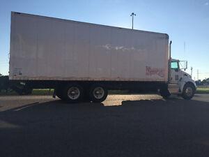 2016 Kenworth Tendem 28ft Box Truck for sale