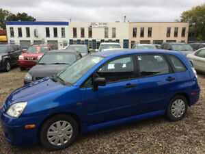 2005 SUZUKI AERIO SX WITH ONLY 90000kms!! SAVE SAVE ON FUEL!!