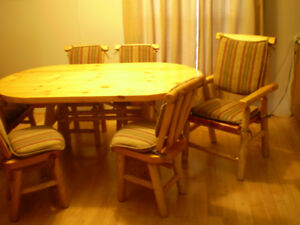 Rustic Craft table & chairs
