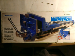 """In search of Mastercraft 7"""" woodworking vise, with Quick-Release"""