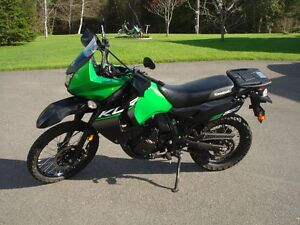 2015 Kawasaki 650 KLR Street and trail