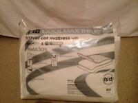 Travel cot mattress