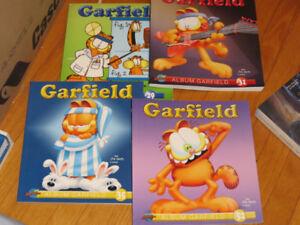 BD GARFIELD   LOT DE 4  ALBUMS NO 29-31-35-52