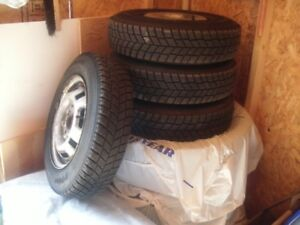 "13"" Hankook Winter Tires"