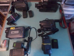 4 CAMCORDERS LOT